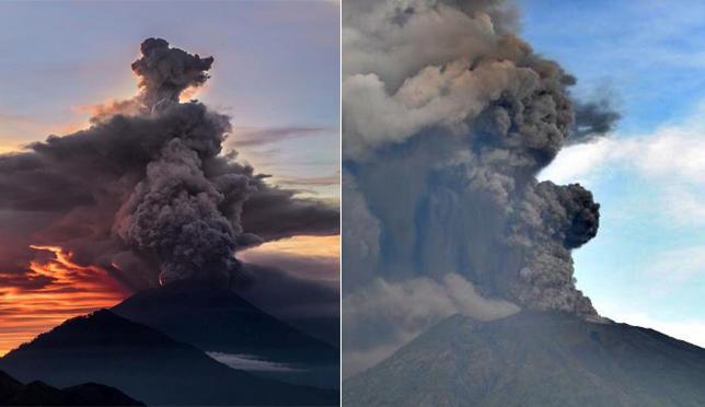 巴厘岛火山喷发-38特刊封面
