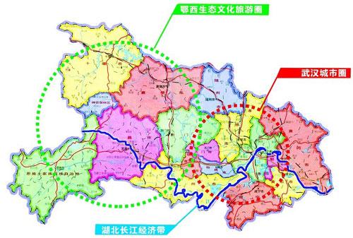 湖北武汉至咸宁地图