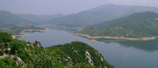 三河口水库风景区
