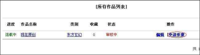 """【公告】现在网2012年度""""长江杯""""网络小说大赛投"""