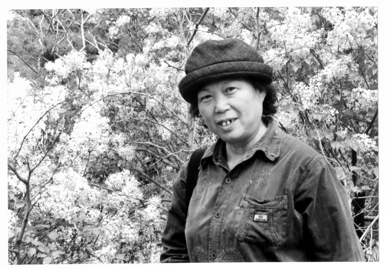 李廼武,1942年生人(女),沈阳故宫博物院专业画家,古画修复专高清图片