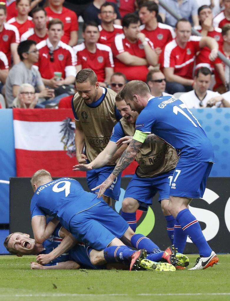 高清:神锋读秒绝杀陷疯狂庆祝 冰岛奇迹继续
