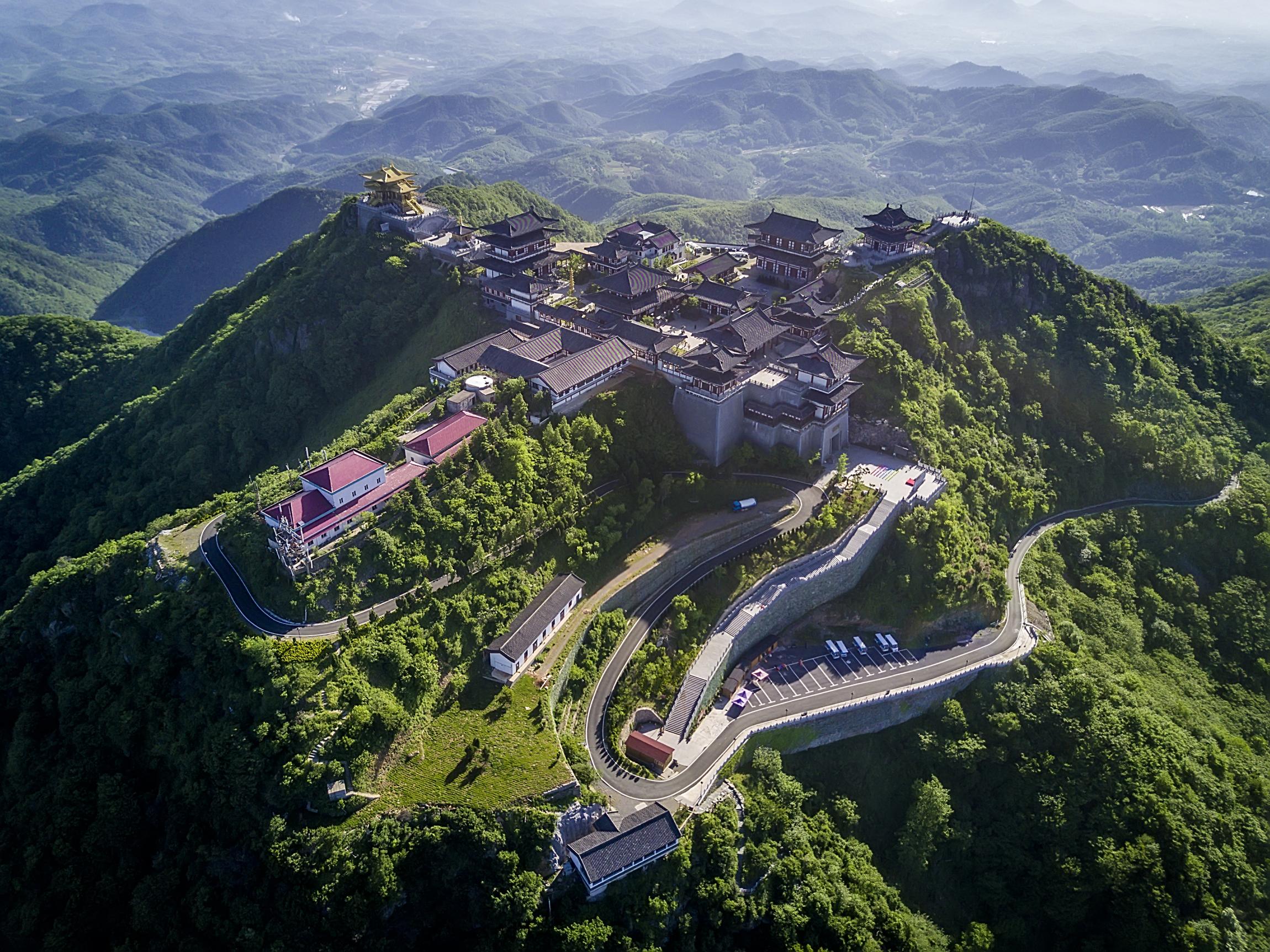 随州大洪山风景区高清图片