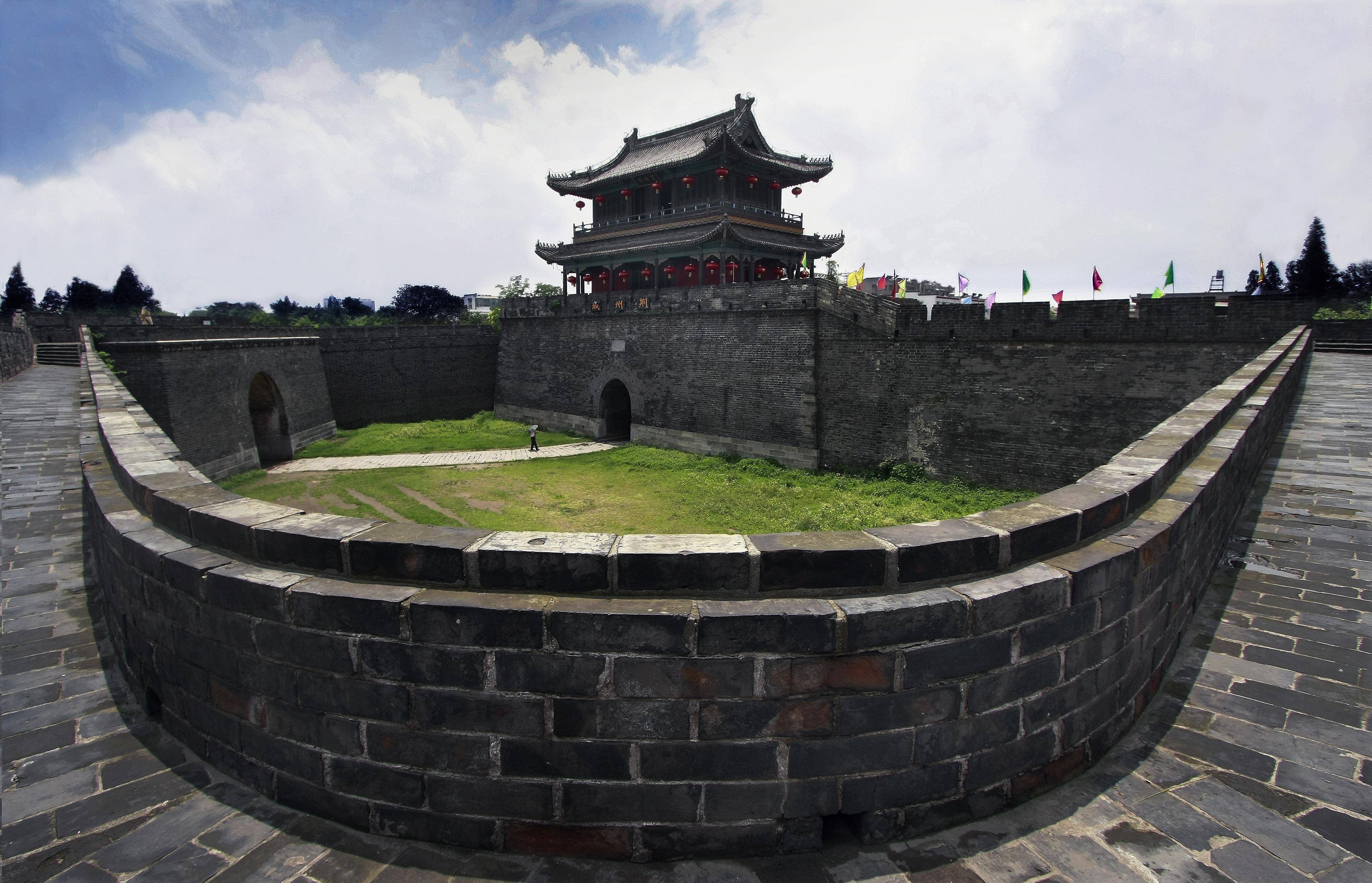 荆州宾阳楼瓮城