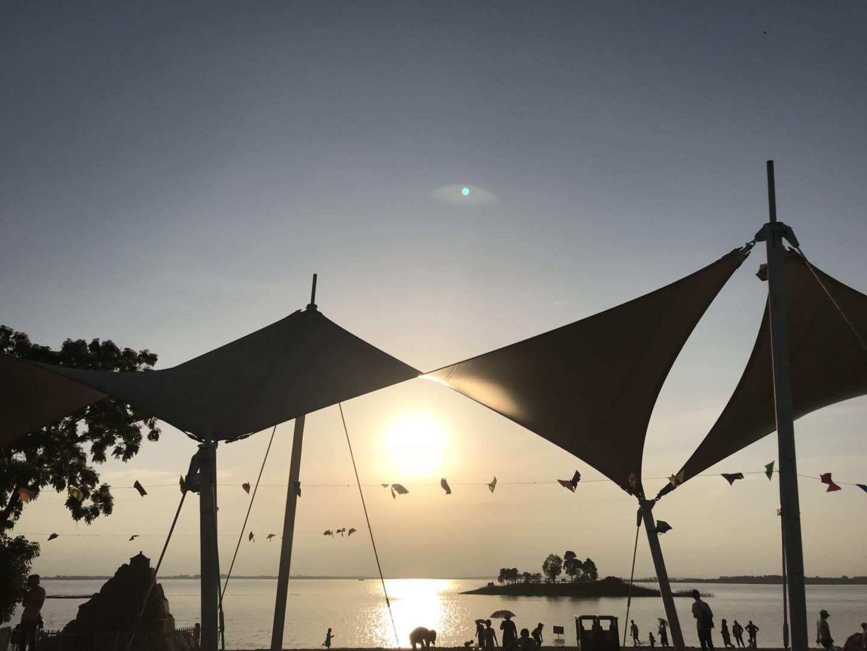 阳光沙滩,湖北夏威夷,千万粉丝走进荆门漳河