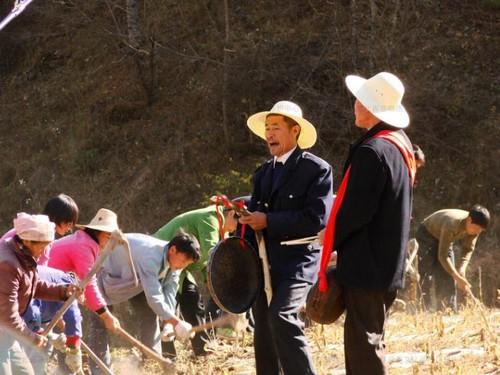 神农架薅草锣鼓主要分布在神龙架林区红坪镇